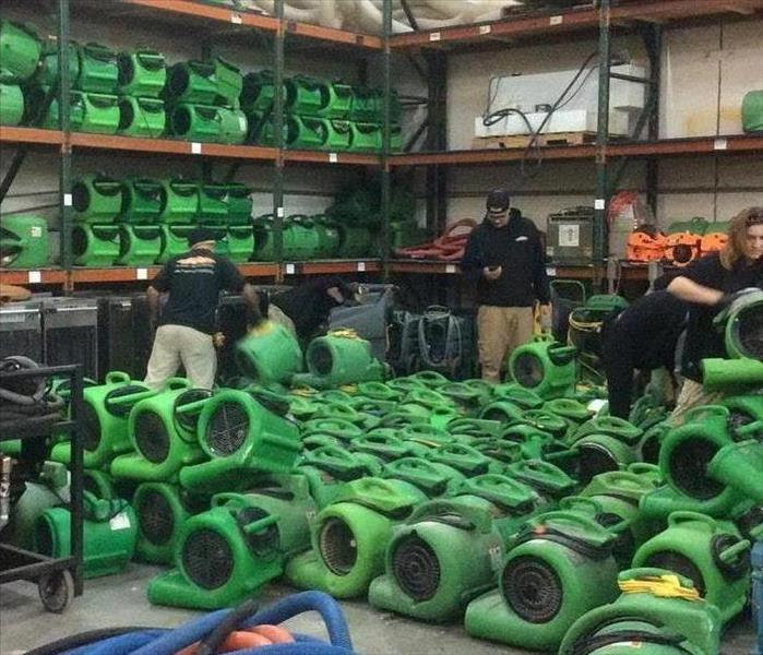 Equipment Cleaning at our Warehouse
