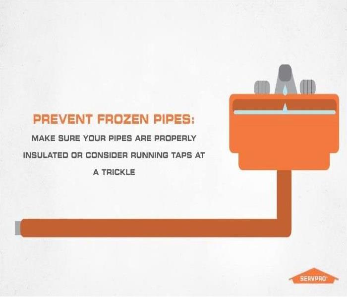 Why SERVPRO How to prevent frozen pipes