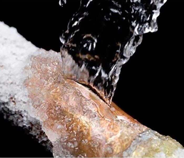 Water Damage Frozen pipe prevention